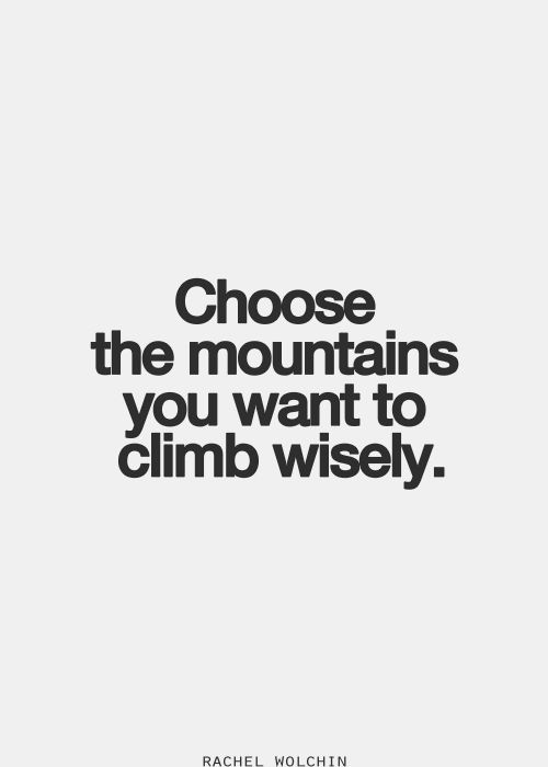 Choose a mountain. Climb it. We'll help you along the way - sign up today at PlaceboEffect.com and join thousands of others around the world who are making their goals and dreams a reality!