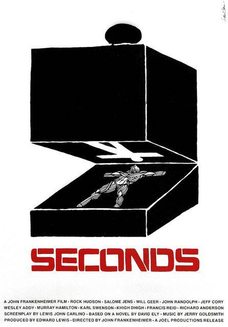 Saul Bass: Seconds poster