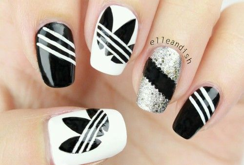 Image shared by Barbie.. Find images and videos about adidas and nails on We Heart It - the app to get lost in what you love.