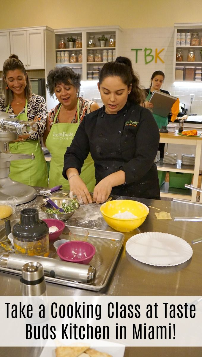 Take a Cooking Class at Taste Buds Kitchen in Miami ...