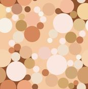 Nude Bubbles--will be available to buy on spoonflower by about march 21