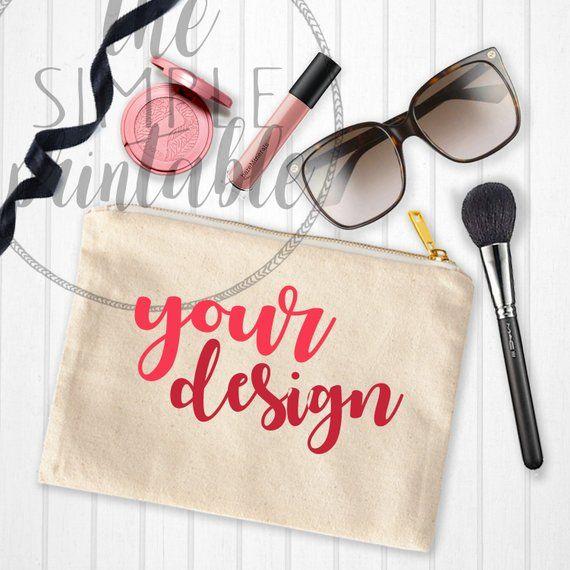 Download Cosmetic Bag Mockup Desktop Mockup Makeup Mockup Mock Up Etsy Bag Mockup Styled Desktop Cosmetic Bag