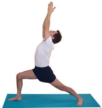 virabhadrasana i stepstep  iyengar yoga asana