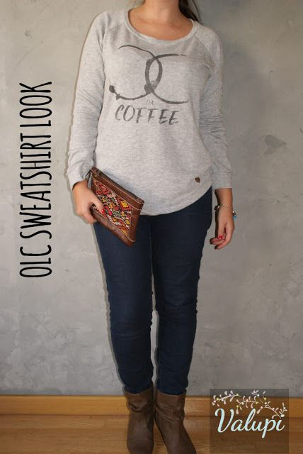 Valupi - Handmade with love: Outfit low cost: Sweatshirt look