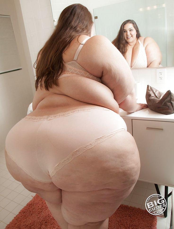 Громадные жопы жирных толстушек — 2