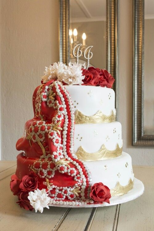 Wedding cake R2000 www.bakentake.co.za