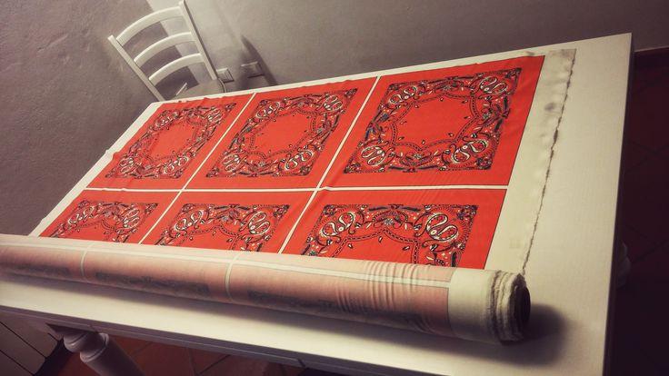 le nostre bandane, eccole appena stampate !
