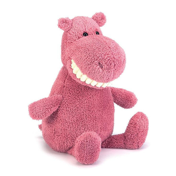 """Jellycat Toothy Hippo Large 15"""""""