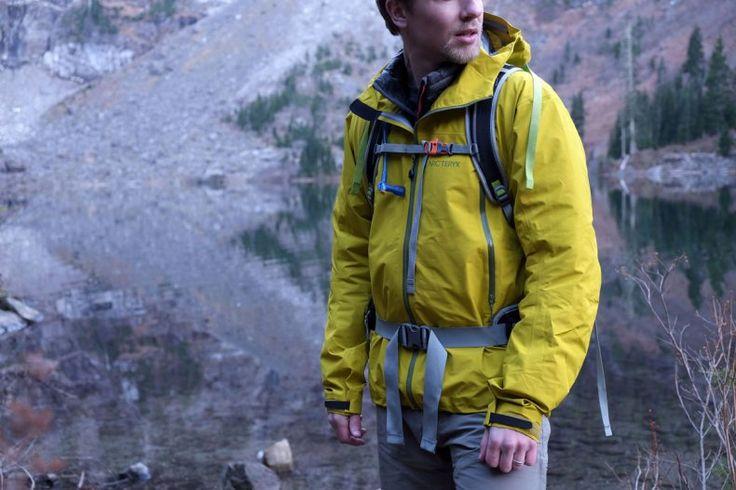 Arc'teryx Zeta LT 3-layer rain jacket