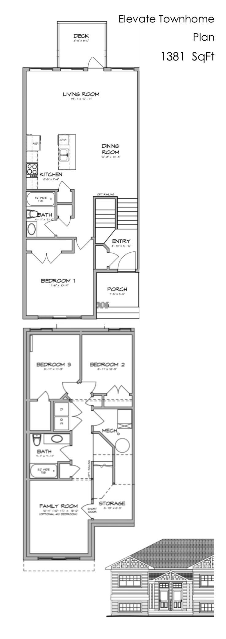 35 best Home Plans images on Pinterest   Home design plans, Home ...