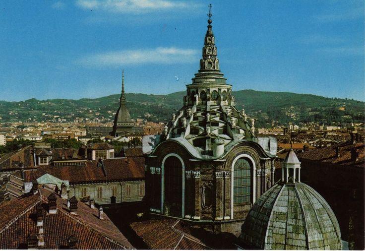 Cupola della cappella della Sacra Sindone Torino