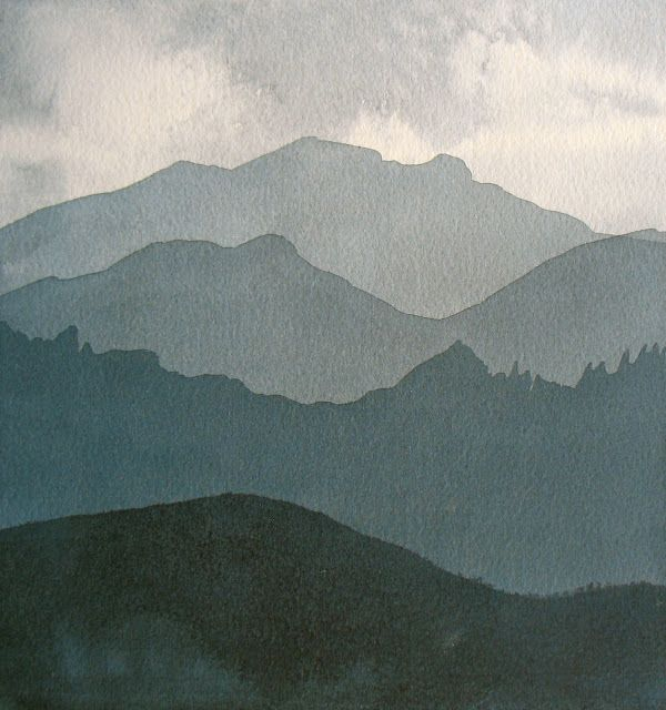 The Painted Prism: WATERCOLOR WORKSHOP: Painting Values with Layered Washes--- would love to try this exercise!