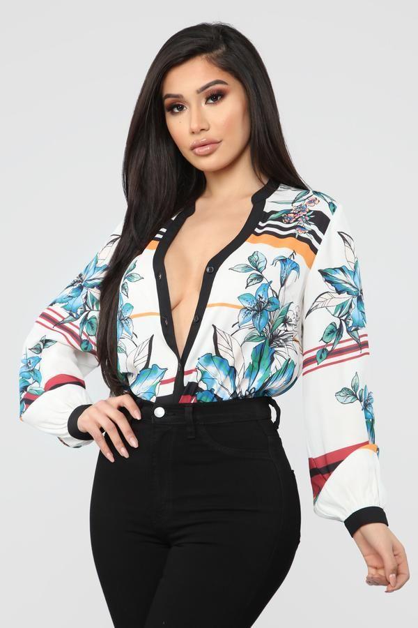 KINA & TAM The Geo Top   Cute tops, Tops, Fashion
