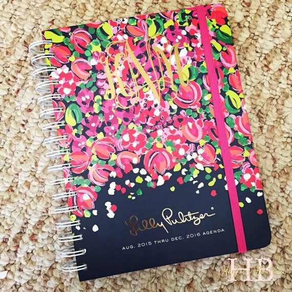Monogram Planner Decal