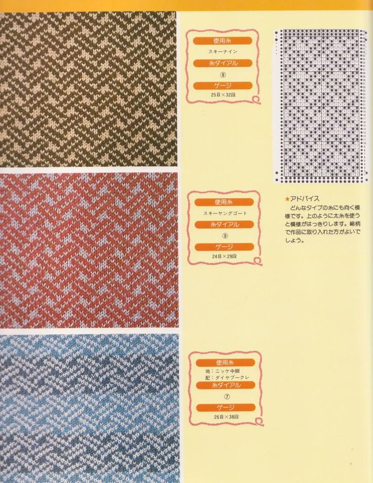 8 best 18 Column Knitting Punch Cards to Try images on Pinterest ...