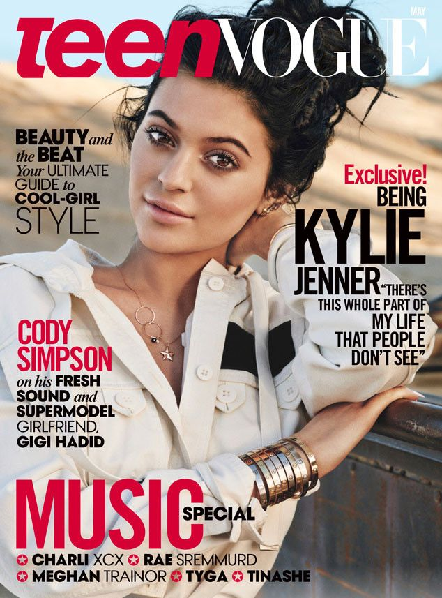 Kylie Jenner Covers Teen Vogue, Says She Wants to Have a Daughter in 10 Years  Kylie Jenner, Teen Vogue