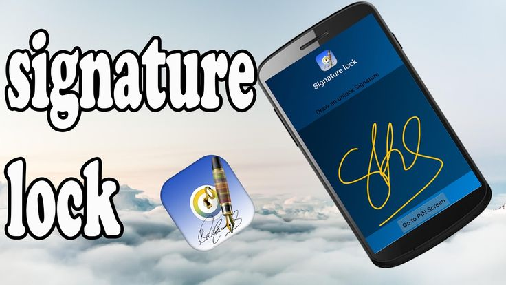 How To Use Signature To Lock Your Android Devices (2017)