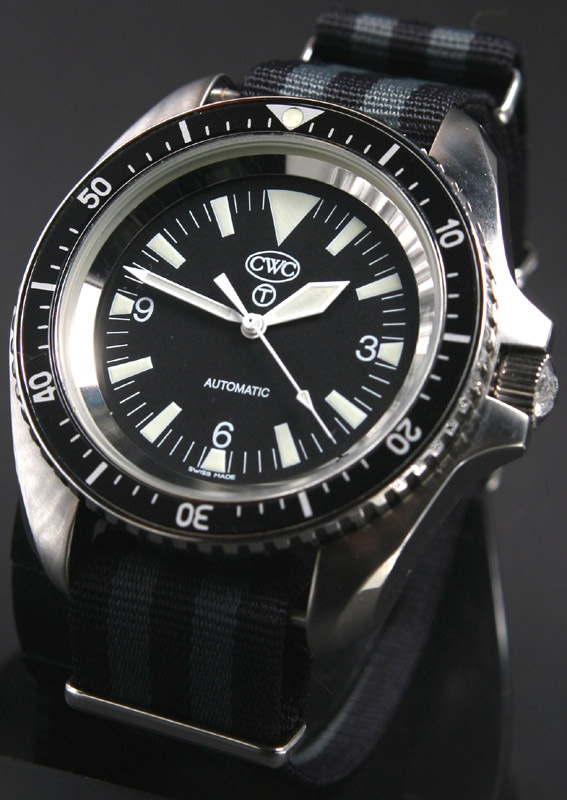CWC Royal Navy automatic watch non-dated