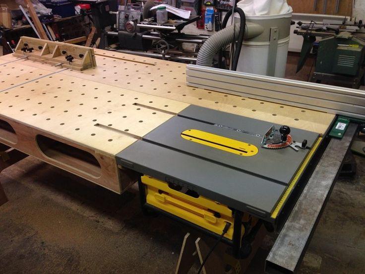 Onboard Paulk Workbench with Biesmeyer - by Navaar @ LumberJocks.com ~ woodworking community