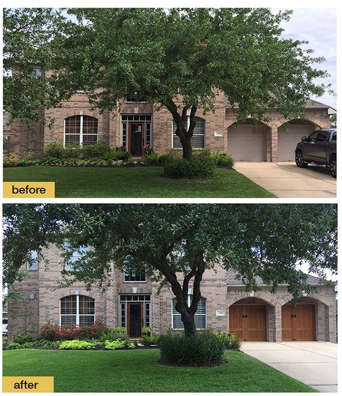 Exceptional Garage Door Makeover   Clopay Canyon Ridge Collection Faux Wood Carriage  House Garage Doors Add Instant