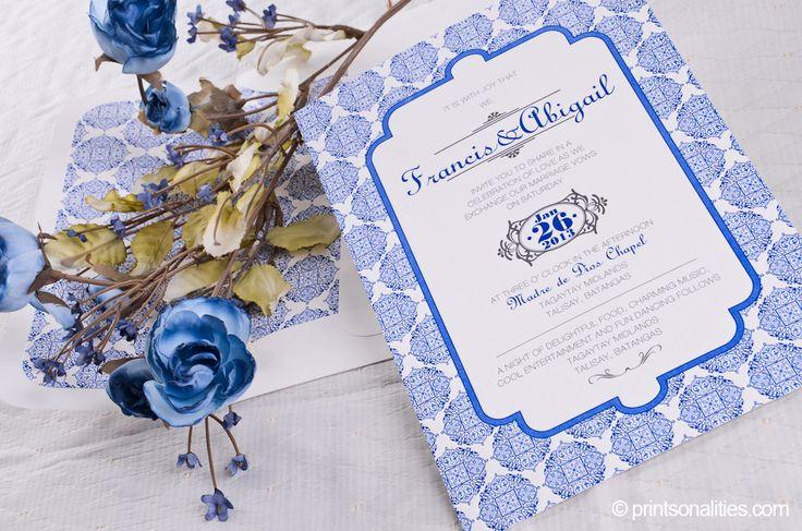 42 best letterpress images on pinterest bridal invitations francis abigail wedding invitation custom invitations by printsonalities your personal invitation stylist stopboris Choice Image