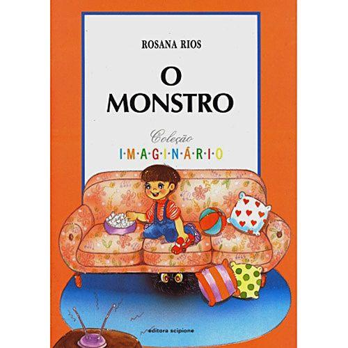 ♥♥♥♥ - O Monstro, escrito Rosana Rios e ilustrado por Margarethe Shibuya Itai. Editora Scipione. Nossa, que história triste no fim das contas hahahaha o menino descobre um monstro na sala e ninguém da família dele dá bola, ocupados que estão com as tarefas do dia-a-dia, acreditando ser só mais uma fantasia infantil. Não gostei muito das ilustrações, por achá-las com cara de livro didático, mas a história é boa.