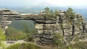 Pravčická brána, symbol národního parku
