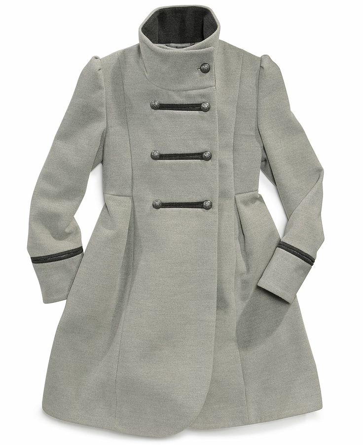 S. Rothschild Kids Coat, Girls Double Breasted Coat - Kids Jackets & Coats - Macy's