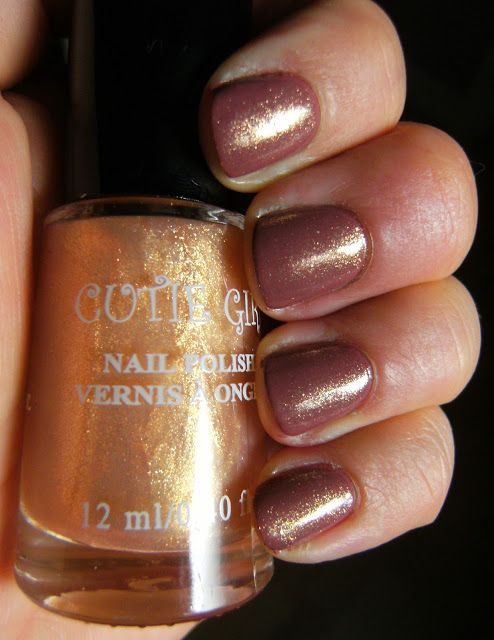 Deez Nailz: Cutie Girl from the dollar Tree and Sally Hansen I...
