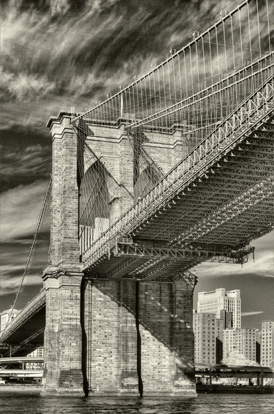 You could be down on your knees, look up and then realize, brooklyn will always be there for you! I <3 NY