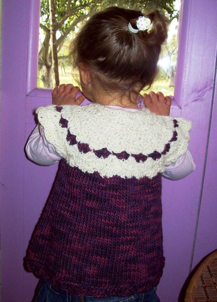 Colibrí Mágico: Chaleco de lana merino