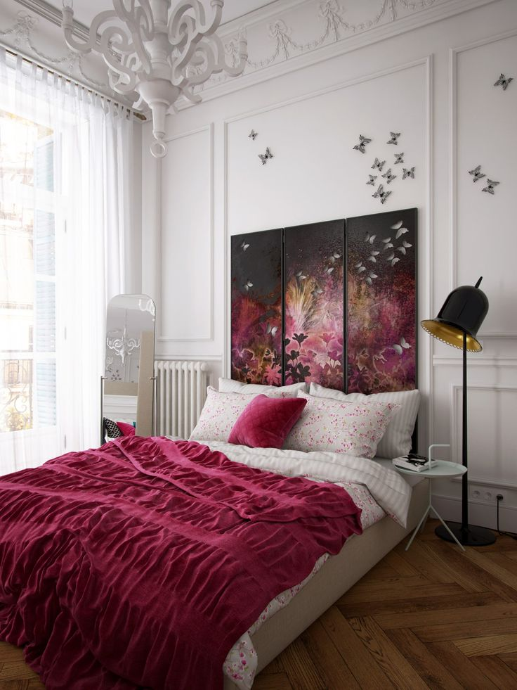 "Picture from ""Bachelorette"" - project by interiordelight.ro. An artist has no home in Europe save in Paris (Nietzsche)"