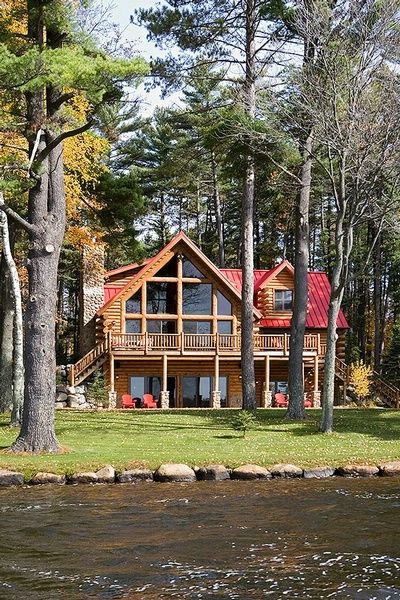 Love the view, love the red roof, love everything about this one!