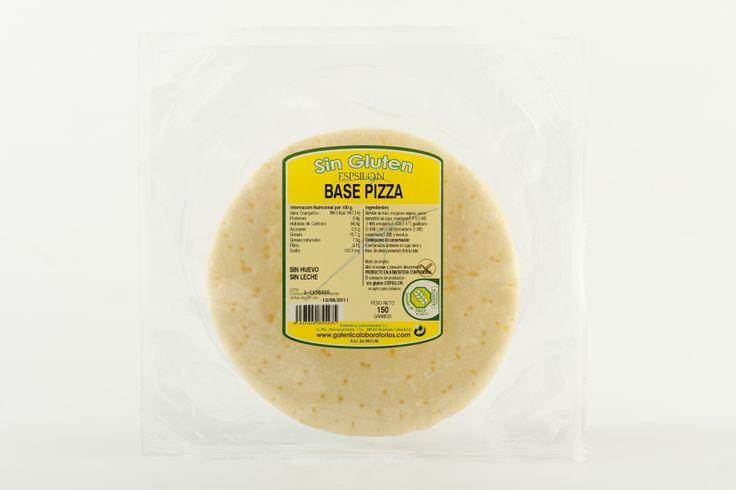 Base de Pizza Sin Gluten Sin Huevo Sin Leche