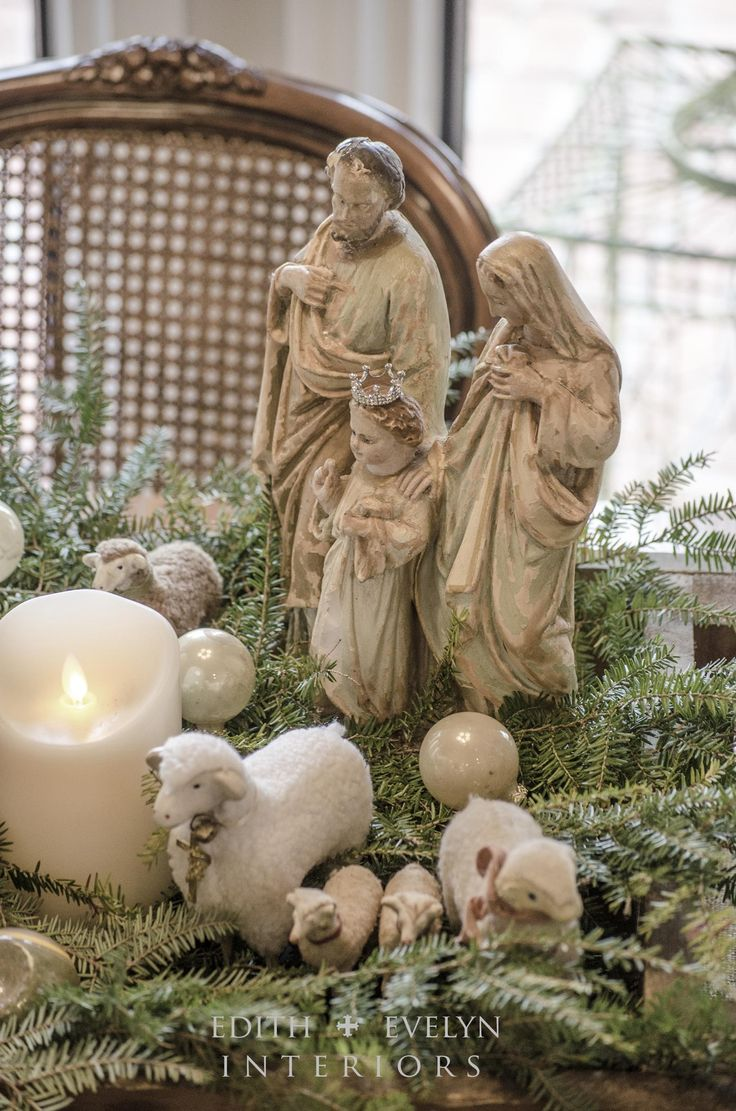 Home interior jesus figurines  best home altar images on pinterest  mother mary saints