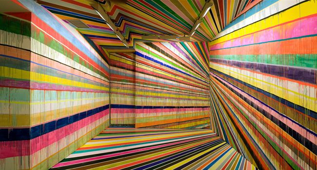 Colourful World of Markus Linnenbrink / Yellowtrace -  I don't think I could stay in this room very long...