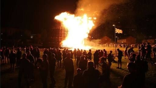 Image result for lots of smoke from bonfires