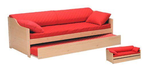 quaidesaffaires lit gigogne cosy 90x190 tiroir lit 2. Black Bedroom Furniture Sets. Home Design Ideas
