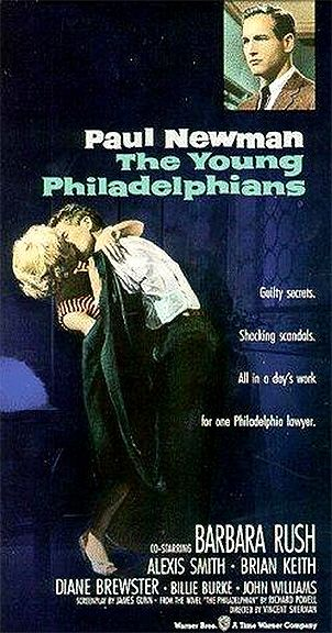 The Young Philadelphians (1959) - Paul Newman, Barbara Rush, Alexis Smith, Brian Keith