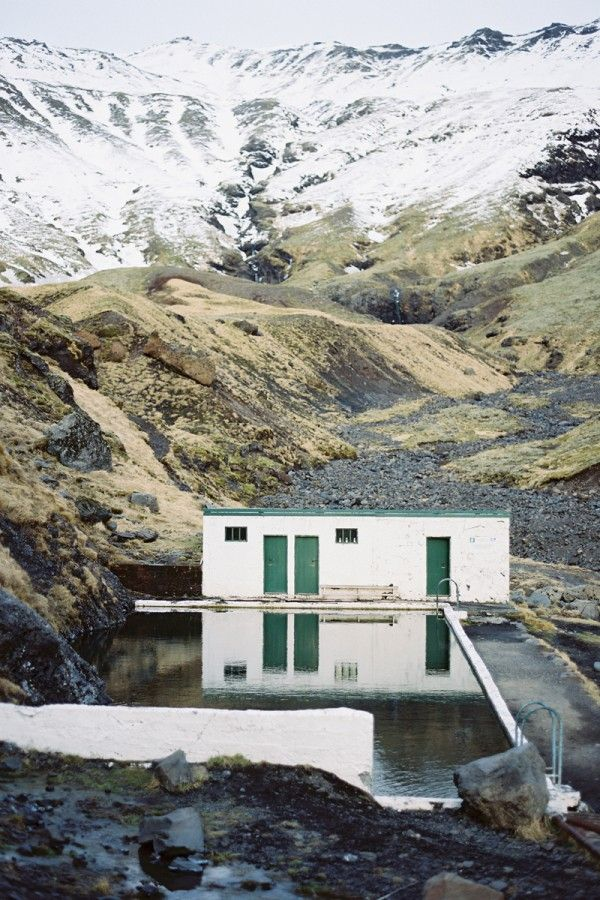 Seljavallalaug hot springs, Iceland | photo by Tec Petaja