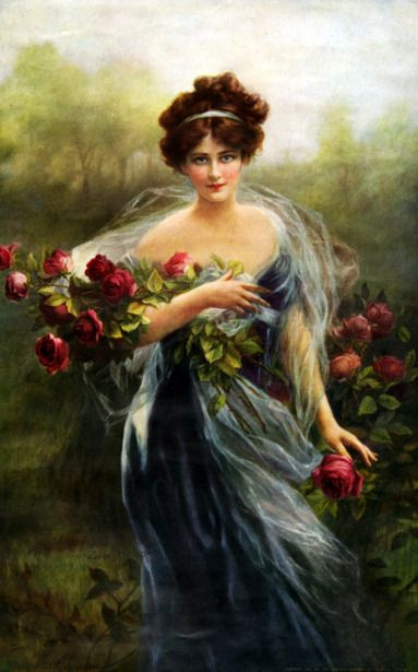 """Goddess Of Summer"" by Zula Kenyon; beautiful paintings of women; painting; painter; artist; art; beauty; ladies; lady"