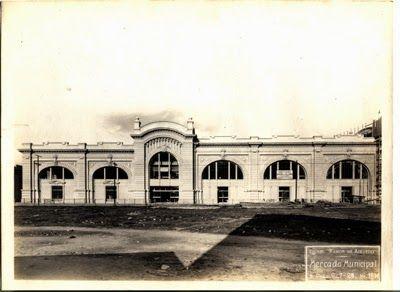 Construção do Mercado Municipal Ano: 1929