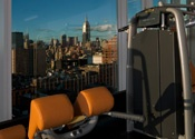 Gym with views of New York @ The Standard #NYC: New York Cities, New York City