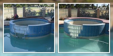 7 Best Pool Rehab Services Images On Pinterest Pools Stains And Swimming Pool Tiles