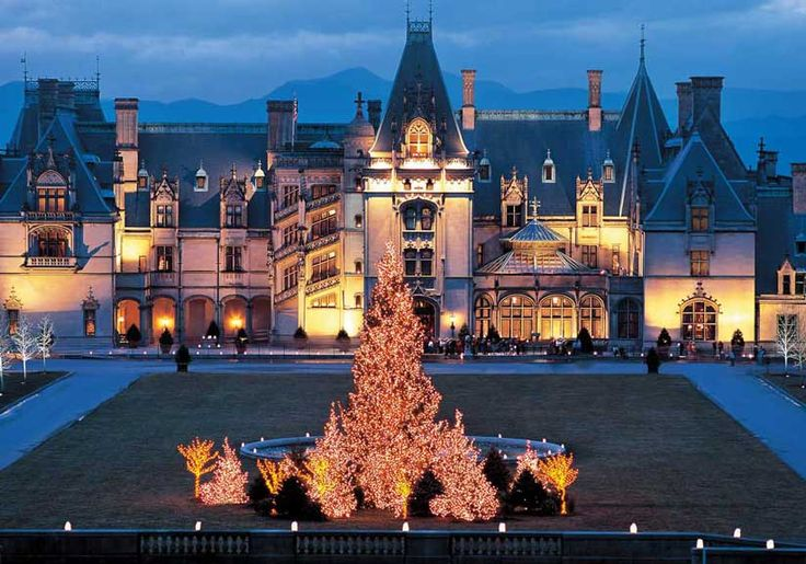 Biltmore estate Asheville NC. My parents took us here and it was really cool.