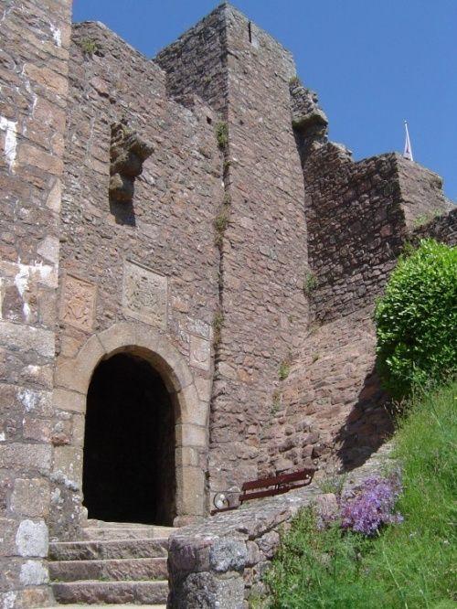 Gateway, Mont Orgeuil Castle, Jersey, Channel Islands