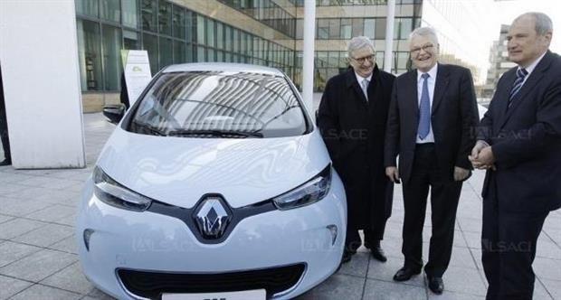 16 Renault ZOE pour le Conseil Général du Haut-Rhin
