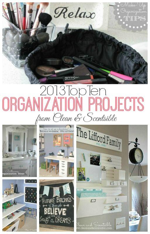 Great organization ideas!