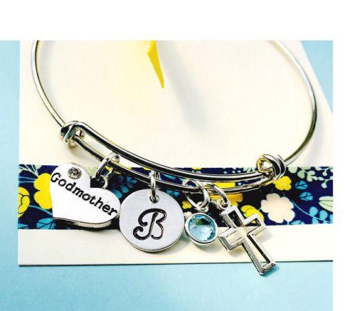 Godmother Gift Godmother Bracelet Godmother Jewelry Adjustable...