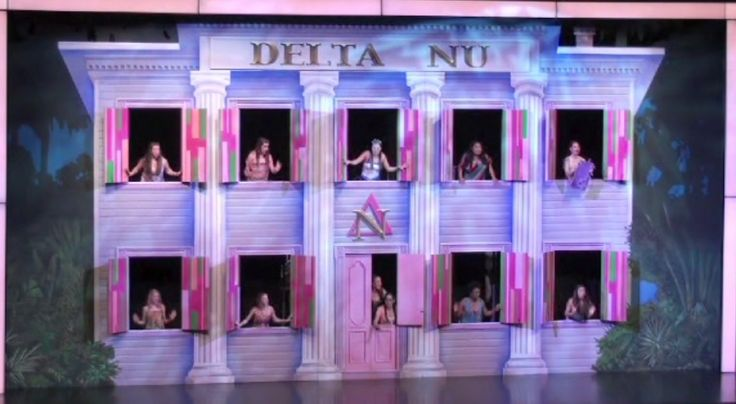 Legally Blonde Set and Props Rental #tmtcompany #legallyblonde
